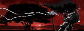 free afro samurai tree manga facebook cover