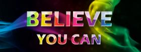 free believe you can quotes facebook cover