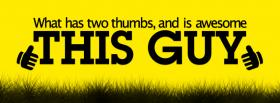 hand holding cup quotes facebook cover