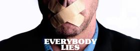 free everybody lies quotes facebook cover