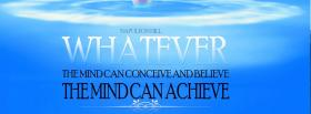 free mind can achieve quotes facebook cover