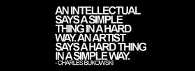 free intellectual and artist quotes facebook cover