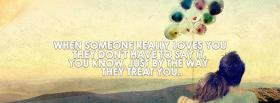 free when someone loves you facebook cover
