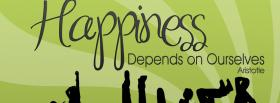 free depends on ourselves quotes facebook cover