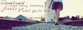losing something quotes facebook cover