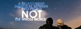 free between two people quotes facebook cover