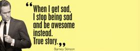 free barney stinson quotes facebook cover