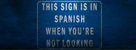 sign in spanish quotes facebook cover