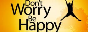 free be happy quotes facebook cover