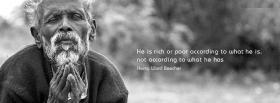 free according to him quote facebook cover