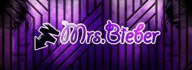 free purple mrs bieber quotes facebook cover