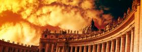 vatican clouds religions facebook cover