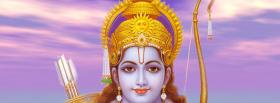 lord rama hinduism religions facebook cover
