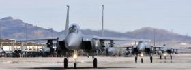 f15 eagle aircraft war facebook cover