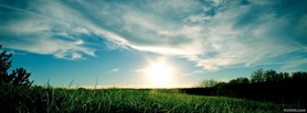 free Sunset facebook cover
