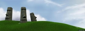 free Easter Islands facebook cover
