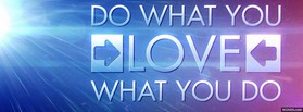 free Do What You Love facebook cover