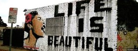 free Life Is Beautiful  facebook cover
