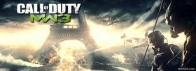 free Call Of Duty MW3  facebook cover