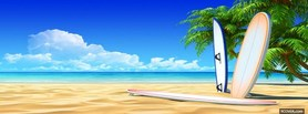 free Beach  facebook cover