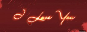 I Love You Light facebook cover