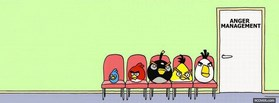 free Angry Birds facebook cover