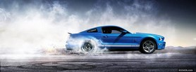 free Ford Mustang facebook cover