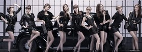 free Girls Generation facebook cover