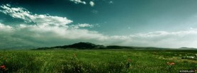 free Run In Fields  facebook cover