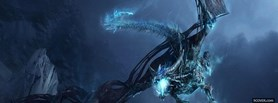 World Of Warcraft Dragon facebook cover