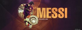 Messi Timeline facebook cover