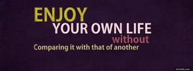 Enjoy Life  facebook cover