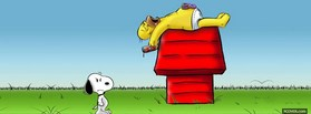 free Homer And Snoopy facebook cover