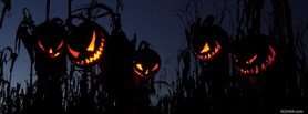 free Halloween Pumpkins facebook cover