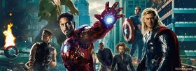 The Avengers 2012 facebook cover