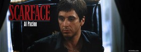 Scarface Al Pacino facebook cover