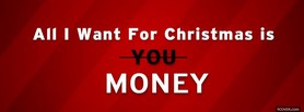 free Money For Christmas facebook cover