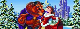 free Beauty And The Beast facebook cover