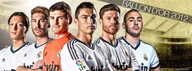 Ballon Dor 2012 facebook cover