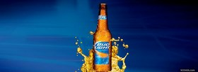free Bud Light Beer facebook cover