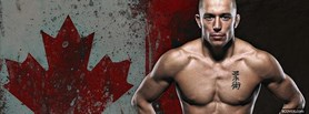 free GSP George St-Pierre facebook cover