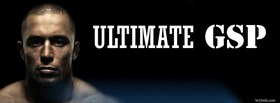 free Ultimate GSP Georges St Pierre facebook cover